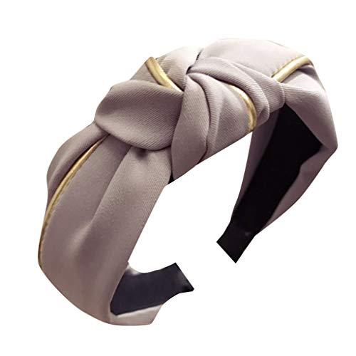 Tie Samt Haarband Zubehör speciales neues Design für Damen Stirnband Haarband Bow Knot Cross YounthoneKopfband Haarspange