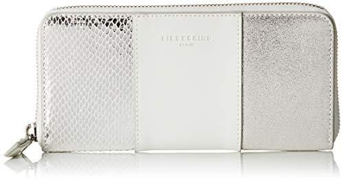 Liebeskind Berlin Damen Valentine Special Wallet Gigi Large Geldbörse, Weiß (Optic White), 2x10x19 cm