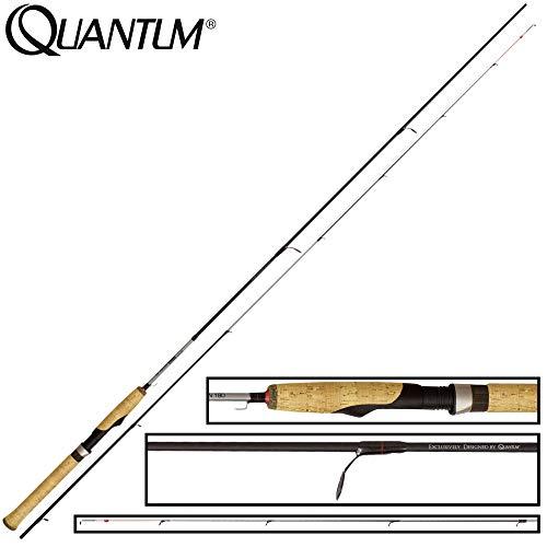 Quantum Drive Felchen 1,80m 1-8g - Angelrute zum Felchenangeln, Ultra Light Rute zum Angeln auf Maränen, Felchenrute