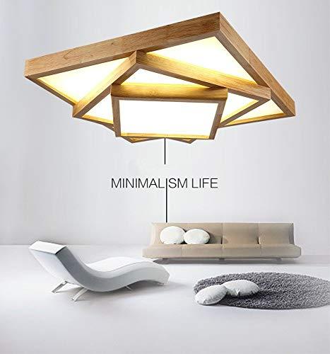 ssivholz Nordic Kunst Kreative Moderne Wohnzimmer Studie Studio Lobby Hotel 63 * 63-54 Watt-weißes licht ()