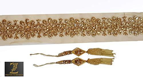 Zenith Net Golden Embroidery Border