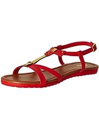 BATA Women's Jenny Red Fashion Sandals - 4 UK/India (37 EU)(5615402)