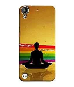 PrintVisa Designer Back Case Cover for HTC Desire 530 (Soul Inner Peace)