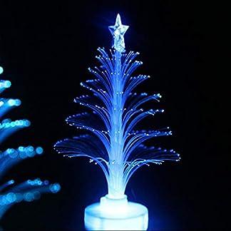 Árbol de Navidad MXECO Color de luz Cambio de decoración de luz LED de la lámpara del Ornamento de Habitaciones Pequeña luz de la Noche para el Festival de la Fiesta en casa