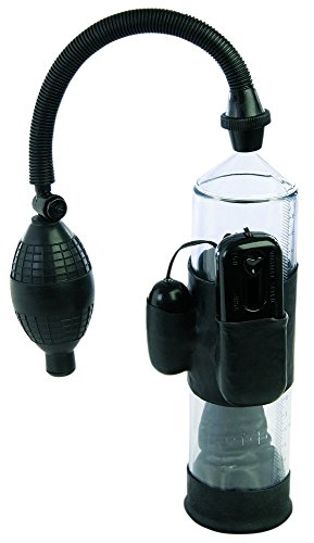 Nanma Lust Buster Vibrations-Vakuum-Penispumpe 19 cm, 1er Pack (1 x 1 Stück)