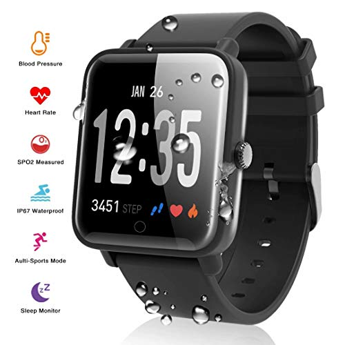 smart watch fitness watch smart bracelet fitness tracker activity tracker with heart rate monitor blood pressure Waterproof Sports Watch Calorie Counter Pedometer smart bracelet watch for android ios