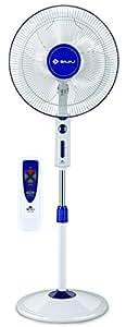 Bajaj Victor VP-R01 400mm Pedestal Fan (White/Blue)
