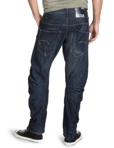G-STAR Herren Loose Tapered Jeans Arc 3D Loose Tapered Blau (dk aged)