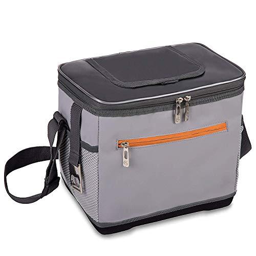 ALLCAMP Waterproof & Leak Proof 9 Can Kühltasche Isolierte Lunchpaket Umhängetasche mit Flaschenöffner für Office Picknick Camping Wandern Reisen Bootfahren Outdoor