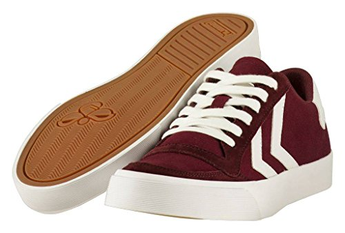 hummel Stadil RMX Low Sneaker Herren bordeaux / weiß