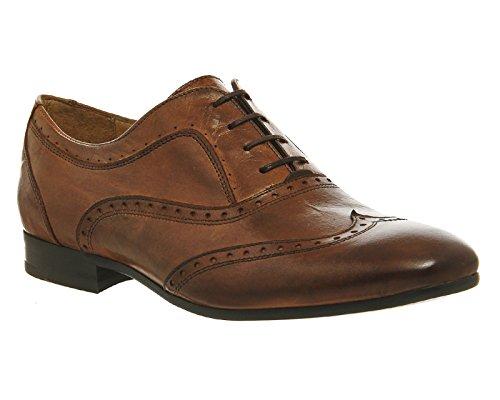Hudson , Herren Schnürhalbschuhe Tan Leather
