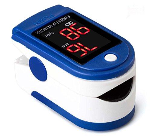 LED Finger Puls Blutsauerstoffsättigung Monitor Silikon Abdeckung Finger Sauerstoffmessgerät Pulsmesser SpO2 Gerät Blutsauerstoffsättigung Füllstandsmessung Fingertip Sauerstoffmessgerät messen -