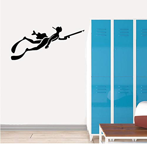 Wand Stickers60CM * 27.3CM Extreme Sport Diving