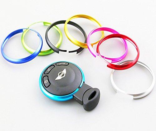 anello-cover-chiave-mini-telecomando-cooper-one-countryman-clubman-portachiavi-azzurro