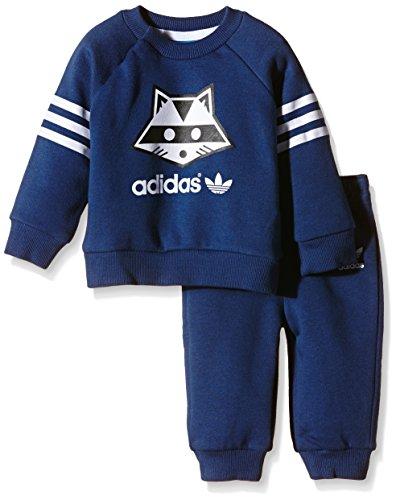 adidas Baby Trainingsanzug Giftsetracoon Oxford Blue F15-St/White, 80 Adidas Oxford