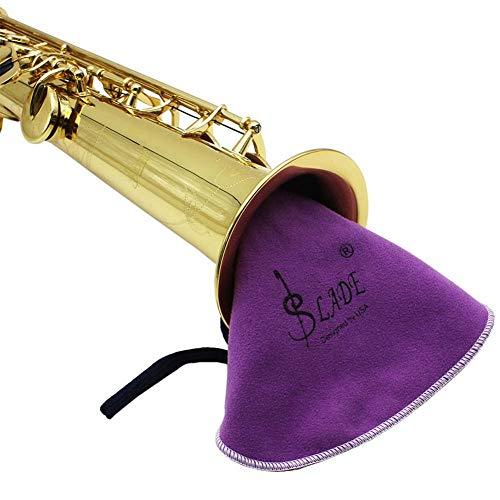 Drfeify Holzblasinstrument Reinigungstuch, Saxophone Sax Clarinet Reinigungstuch Werkzeug für Tube Inside Clean