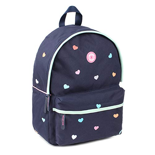 Milky Kiss Backpack Candy Shop Navy Large Kinder-Rucksack, 39 cm, Blau (Navy Blue)
