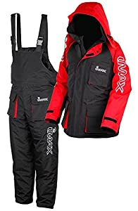 Imax Thermo Suit Sea Fishing Clothing (Pack of 2) - Black, Medium by Imax