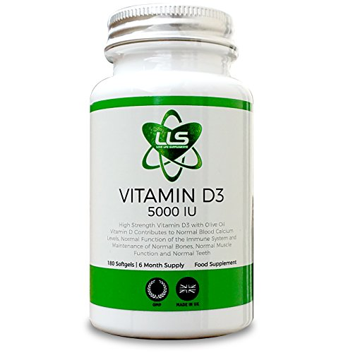 LLS D-Vitamina D3 Light | Molto Forte 5000iu | 180