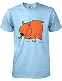 Bang On The Door by wantAtshirt - Officially Licensed T-shirt - Wombat - S to 2XL