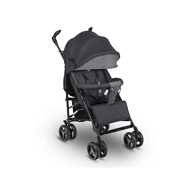 Lionelo Irma Folding Stroller with Backrest Adjustment 6 Inch Wheels Lionelo  1