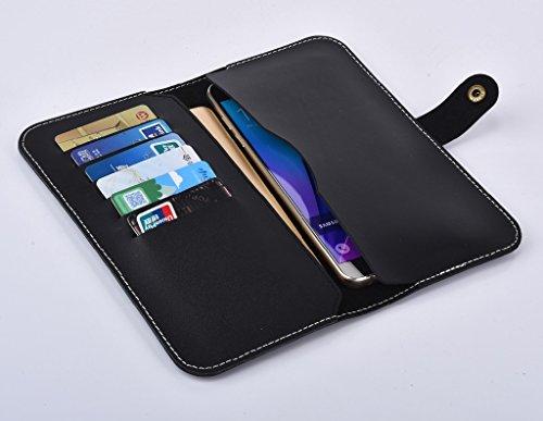 Einzigartige Geldbörsen (iPhone 8 Hülle Brieftasche Wallet Case, Portable Smartphone Hülle Geldbörse, YooGoal Classic Business Einzigartige Premium Leder Geldbörse Tasche für iPhone 8 & Samsung & und mehr 6 Zoll & unter)