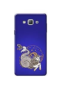Samsung Galaxy A7 Case Kanvas Cases Premium Quality Designer 3D Printed Lightweight Slim Matte Finish Hard Back Cover for Samsung Galaxy A7