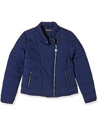 Tommy Hilfiger Seda Quilted Biker Jacket, Abrigo para Mujer