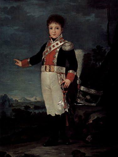 Lais Puzzle Francisco de Goya y Lucientes de - Portrait de Lucientes Don Sebastian Gabriel de Borbón y Braganza 500 Pieces 2de655