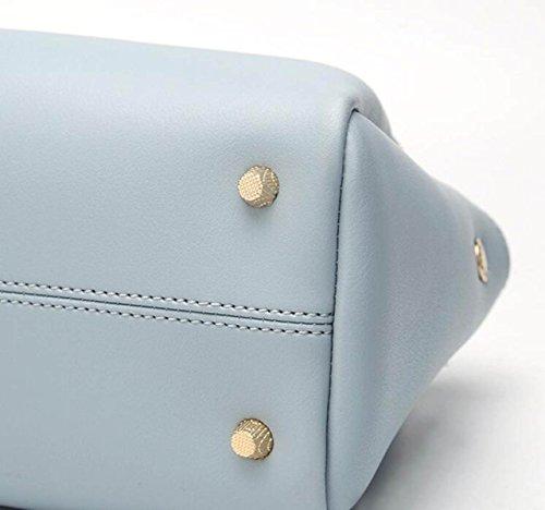 Dame Fashion Tassel Bag Einfache Handtasche Umhängetasche Messenger Bag Handtasche Kleine Tasche C