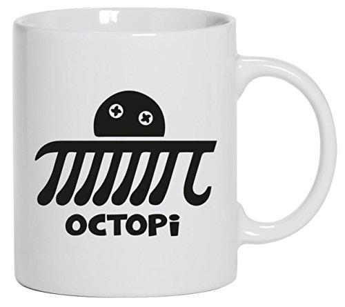 i, Kaffee Becher mit Motiv bedruckte Tasse Mug Kaffeebecher, Größe: onesize,Weiß ()