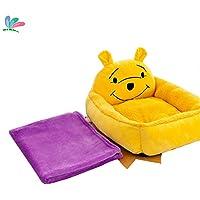 MXMLos Juguetes de la Felpa cómoda práctica caseta de Perro los Juguetes de Felpa Desmontable Lavable