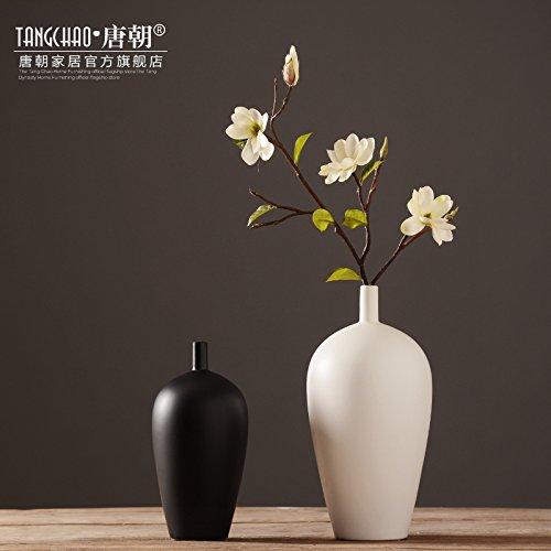 Jarrón de cerámica Jarrón Florero ornamentos Zen Creative Salón mesa Floral Home...
