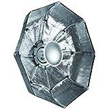 Linkstar QSSR-70X/S bol beauté pliable argent 70cm (monture Bowens/Linkstar)