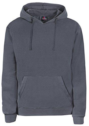 SUMG Kapuzenpullover Hoodie Kapuzen-Sweatshirt 'BASIC Hooded Pullover' (M, Rot)
