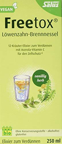 Freetox® Löwenzahn-Brennnessel 12-Kräuter-Elixier zum Verdünnen bio (0.25 L) -