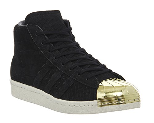 adidas Originals Superstar ProModel Metal Toe Schuhe Sneaker Sportschuhe Schwarz S81466 Schwarz