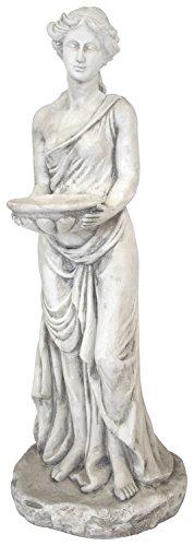 Deko Statue XXL Frau mit Schale