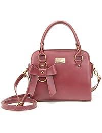 Bolso para Dama, Bolso De Moda En Color Liso + Bolso Cruzado Diagonal, 2