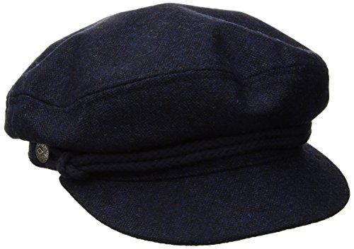 Brixton Unisex Headwear Fiddler Cap washed navy/Navy