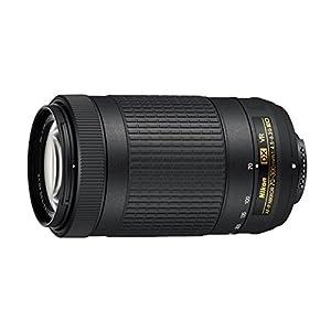 Nikon AF-P DX NIKKOR 70-300 mm f/4.5-6.3G ED VR Lens for DSLR Cameras (Black)