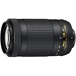Nikon AF-P DX NIKKOR 70-300mm f/4.5-6.3G ED VR Lens for DSLR Cameras (Black)