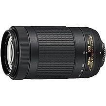 Nikon JAA829DA - Objetivo para cámara réflex AF-P DX 70-300 4.5-6.3G VR SD2, color negro