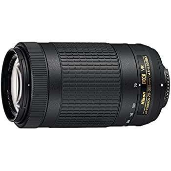 Nikon JAA829DA - Objetivo para cámara réflex AF-P DX 70-300 4.5 ...