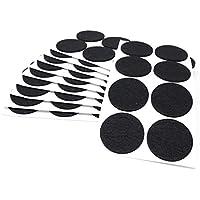 80x Fieltro, diámetro 50mm | Negro | redondo | 3.5mm Fuerte etiqueta de fieltro para muebles en Top de calidad de adsamm