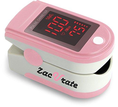 Zacurate Pro Serie cms 500dl Fingertip Pulsoximeter Blutsauerstoffsättigung Monitor mit Silikon Cover, Batterien und Schlüsselband,...