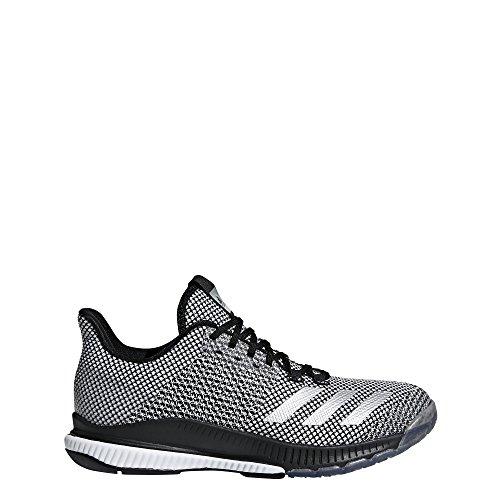 adidas Crazyflight Bounce 2.0, Scarpe da Pallavolo Donna, Nero Cblack/Silvmt/Ftwwht, 42 EU