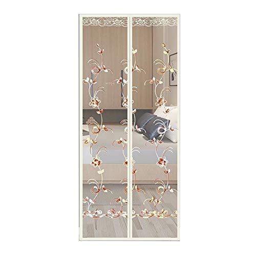 Zhaoxiaomei Magnetische Fliegen-Insektenschutzgitter-Tür, Stickbildschirm Steuert Insekten, Damit