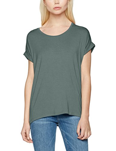 ONLY Damen T-Shirt Onlmoster S/S O-Neck Top Noos Jrs Grün (Balsam Green Balsam Green)