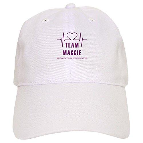 CafePress Team Maggie Baseball - Baseball Cap With Adjustable Closure, Unique Printed Baseball Hat